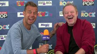 Interview with Cutting Crew at Let's Rock The Moor! 2016