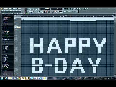 Flipsyde - Happy Birthday FL Studio Cover INSTRUMENTAL