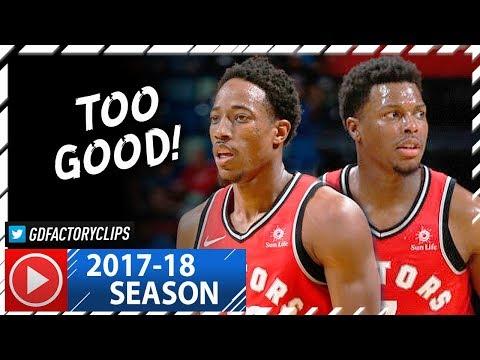DeMar DeRozan & Kyle Lowry Full Highlights vs Pelicans (2017.11.15) - 47 Pts, 20 Reb Total