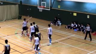 20151012 屯門學界籃球賽 A grade 初賽 【馬