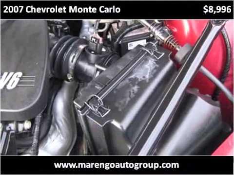 2007 Chevrolet Monte Carlo Used Cars Marengo Il Youtube