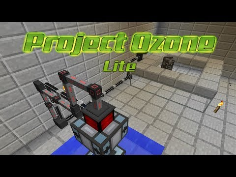 Project Ozone Lite - CRUDE COW POWER [E13] (HermitCraft Server Modded Minecraft Sky Block)