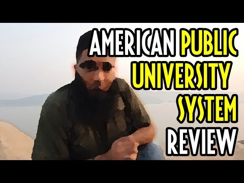 🏫American Public University System Worth It ? + Review!🎓