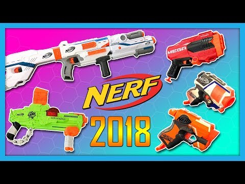 NEW 2018 NERF GUNS Announced! Mega Tri-Break, Zombie Strike Revreaper & more! | Nerf News