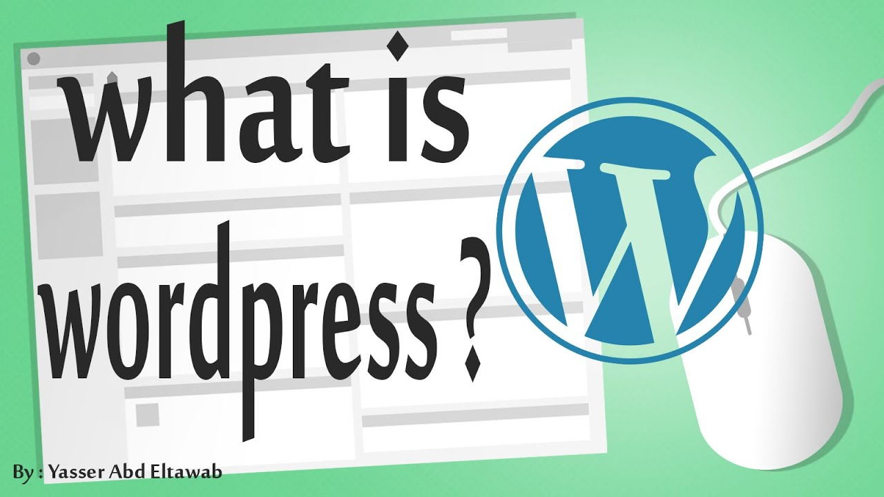 wordpress in arabic (#1) - what is wordpress ?