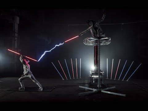 Entertainment with ⚡ONE MILLION VOLTS ⚡  Tesla coil show   Game Of Thrones main theme