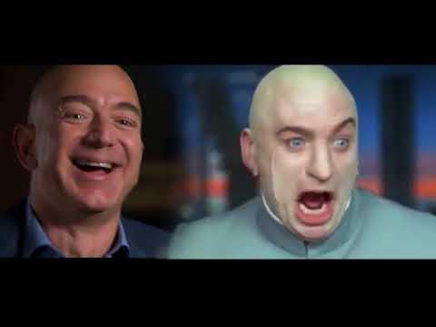 Jeff BEZOS joins Dr. EVIL* Laugh Fest- Austin Powers