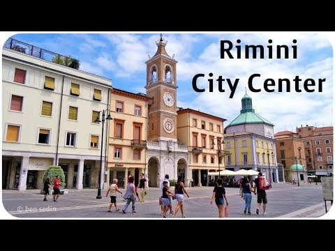 Rimini, Italy - City Center