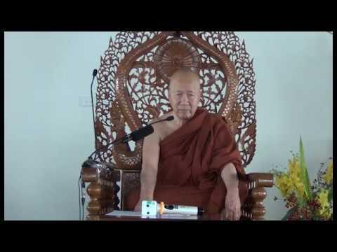 02 Sư Khánh Hỷ hướng dẫn khóa thiền Vipassanā Hà Nội ngày 5/2016 phần 1