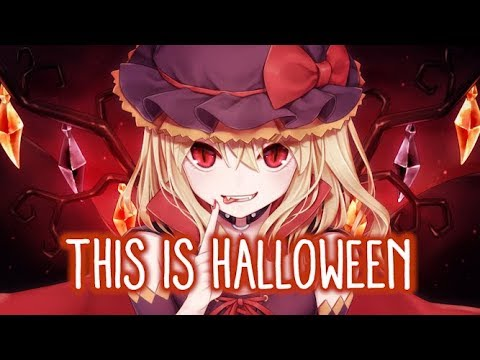 【Nightcore】→ This Is Halloween (cover)    Lyrics
