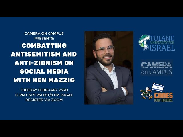 Combating Antisemitism and Anti-Zionism on Social Media with Hen Mazzig