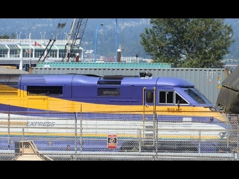 West Coast Express - Waterfront to Pitt Meadows Station (Part 1/2) (No Cuts + McBarge)