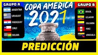 PREDICCIÓN COPA AMÉRICA 2021   ANÁLISIS FASE DE GRUPOS Y POSIBLE CAMPEÓN