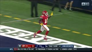 Tyreek Hill Incredible 57 yard Touchdown vs Cowboys as Time Expires!