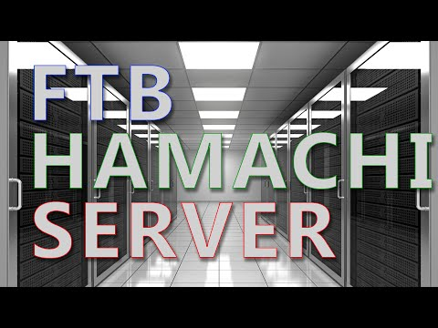 how to create a server with hamachi