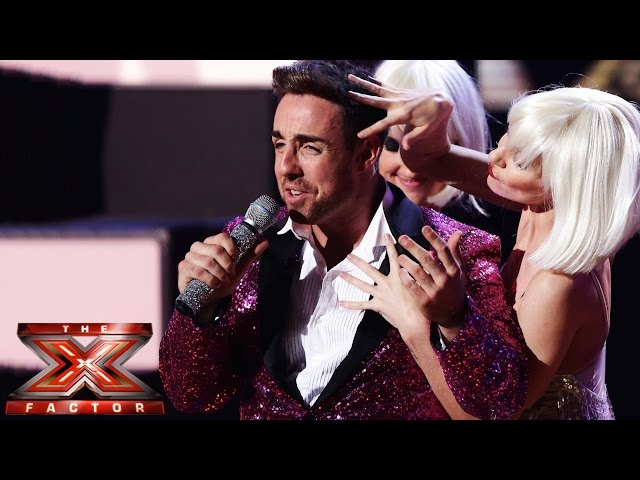 Stevi Ritchie sings Mambo Number 5 / She Bangs (Medley) | Live Week 6 | The X Factor UK 2014