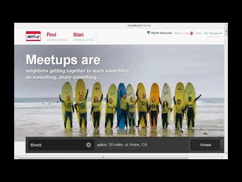 meetup website review