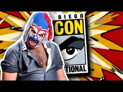 Escorpión suelto en la Comic-Con