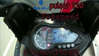 2018 Pulsar 220F Top speed | Acceleration