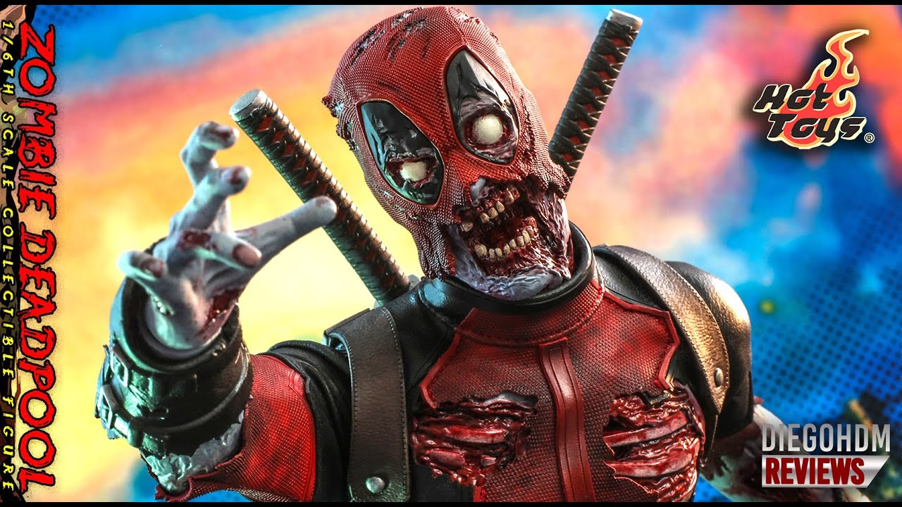 PREVIEW Hot Toys DEADPOOL ZOMBIE Marvel Zombies / DiegoHDM