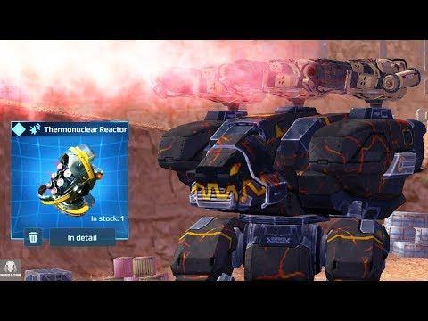 Ridiculous Fury Ember With Damage Modules – Melting All Enemies | War Robots
