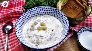 Dovğa   Azerbaijani White Soup - Dovga   Довга - Белый Суп по Азербайджански