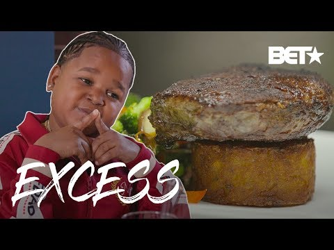 Pio's Expensive $1,000 Steak Dinner At Celebrity Favorite: Old Homestead | Excess w/ Pio