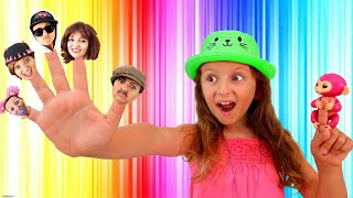 The Finger Family Song   From Super Elisa