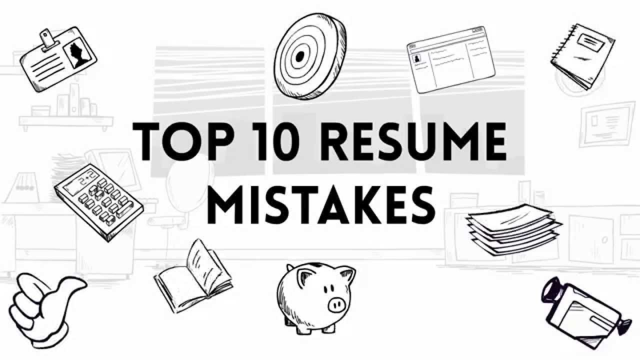Superb Top 10 Resume Mistakes