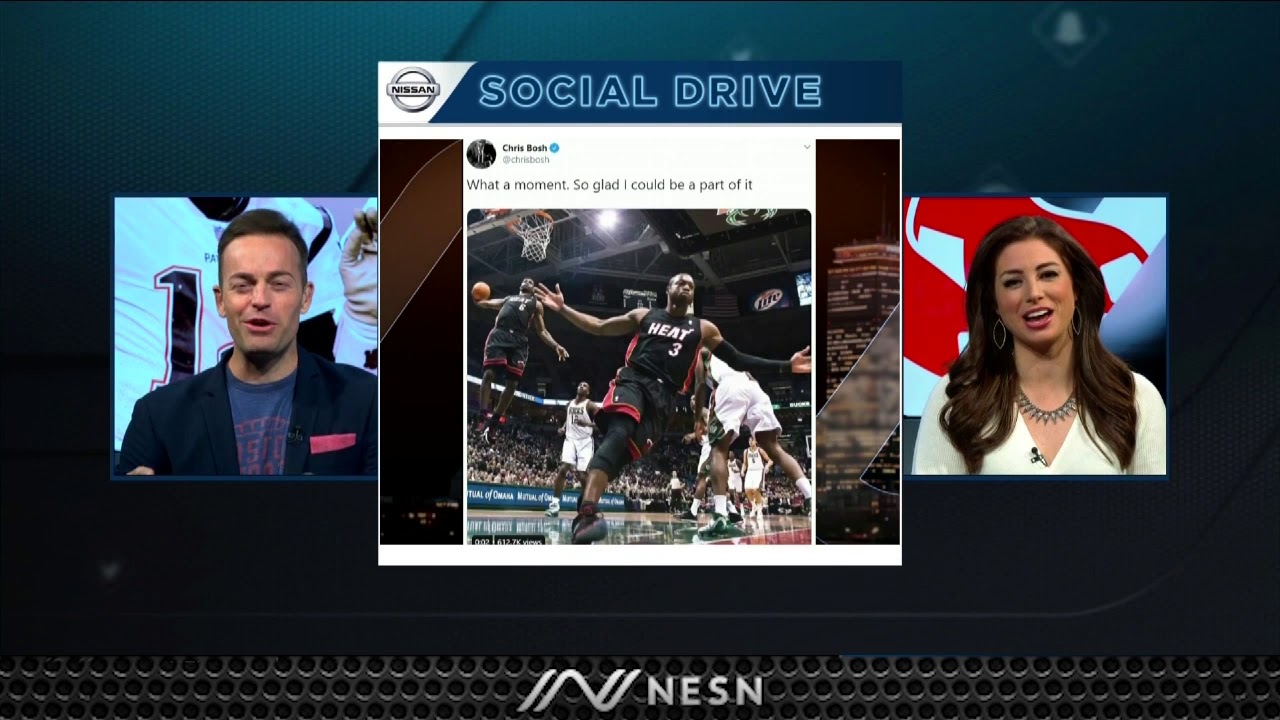 Nissan Social Drive: Chris Bosh Has Hilarious Reaction On Twitter
