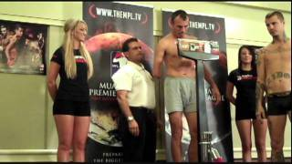 Zidov Akuma Dominik - MPL - Muay Thai Premier League Weigh-Ins