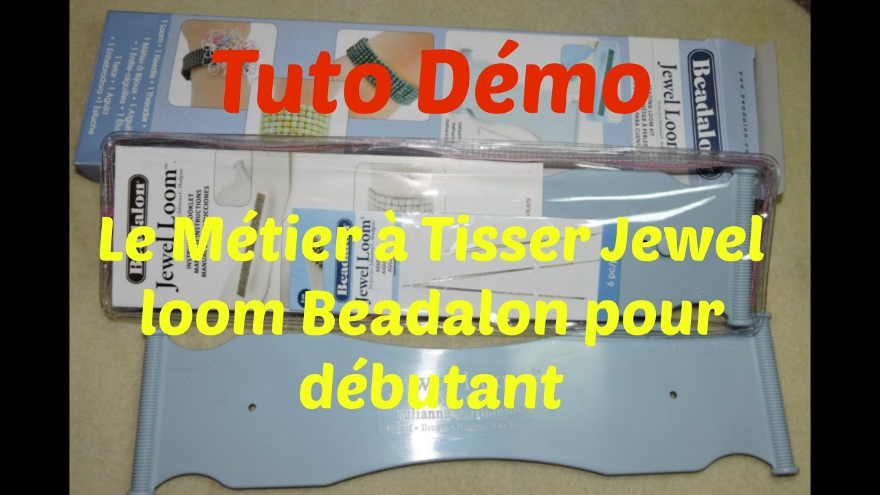 tuto demo le metier a tisser pour d butant de la marque. Black Bedroom Furniture Sets. Home Design Ideas