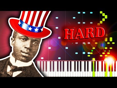SCOTT JOPLIN - THE ENTERTAINER - Piano Tutorial