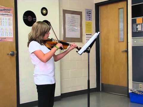 Rebecca     10000 Reasons Violin