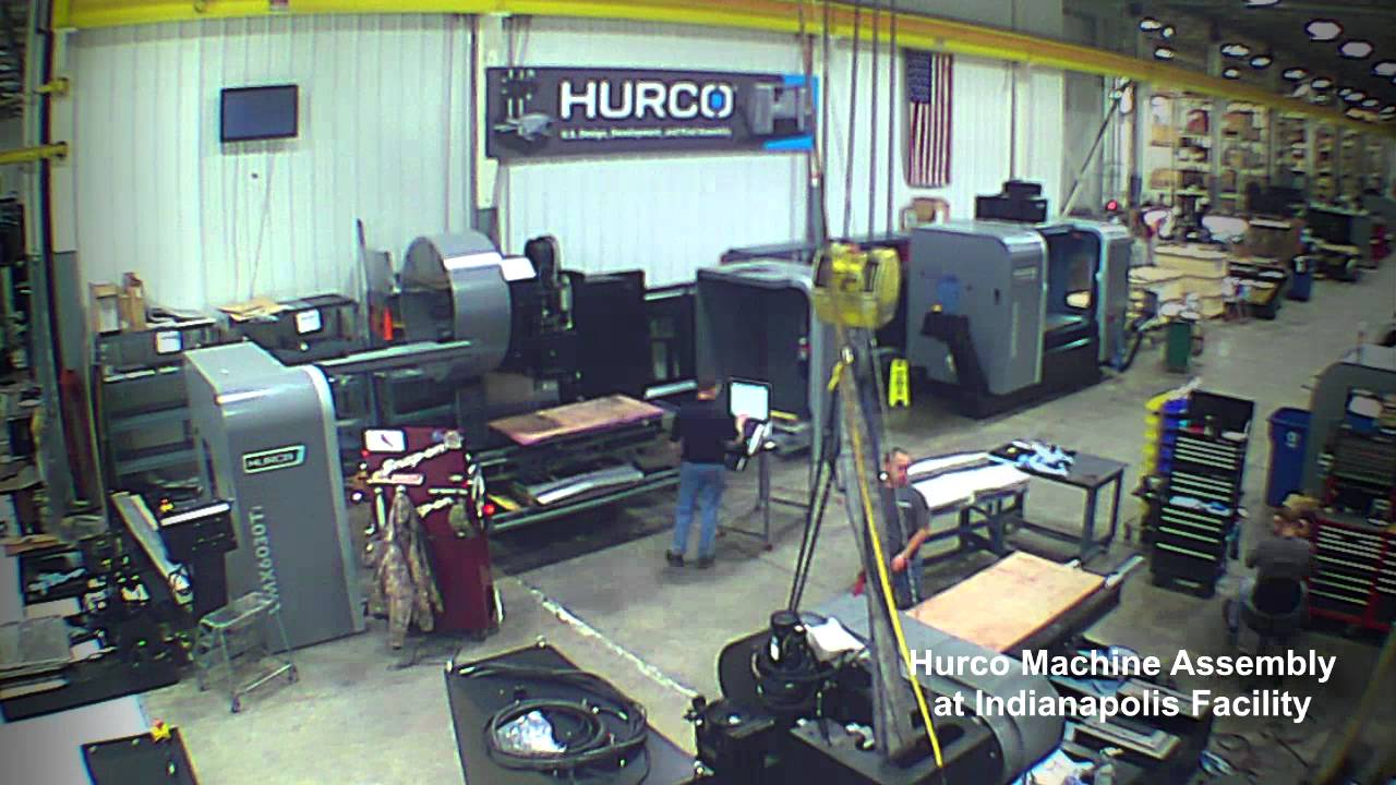 Hurco VMX6030i Machining Center Made in Indianapolis