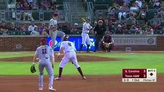 Baseball: Highlights | A&M 6, South Carolina 3