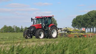 Case IH Vestrum 130 CVXDrive + Claas Liner 2900 | Demo Hamoen LMB