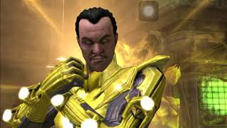 Injustice Mobile Sinestro Super Moves and Powers No Commentary