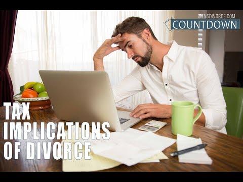 Men's Divorce Countdown: Tax Implications Of Divorce