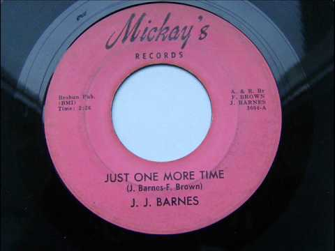 J J  BARNES   JUST ONE MORE TIME