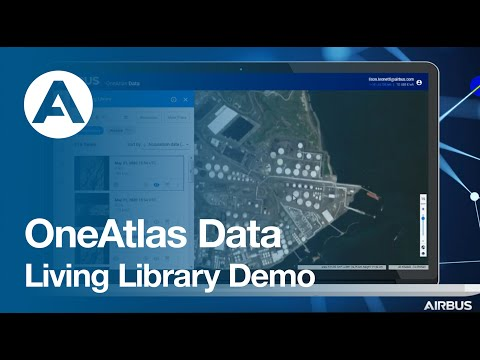 OneAtlas Data: Living Library Demo
