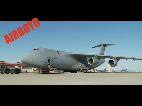 C-5 Super Galaxy - A Day In The Life