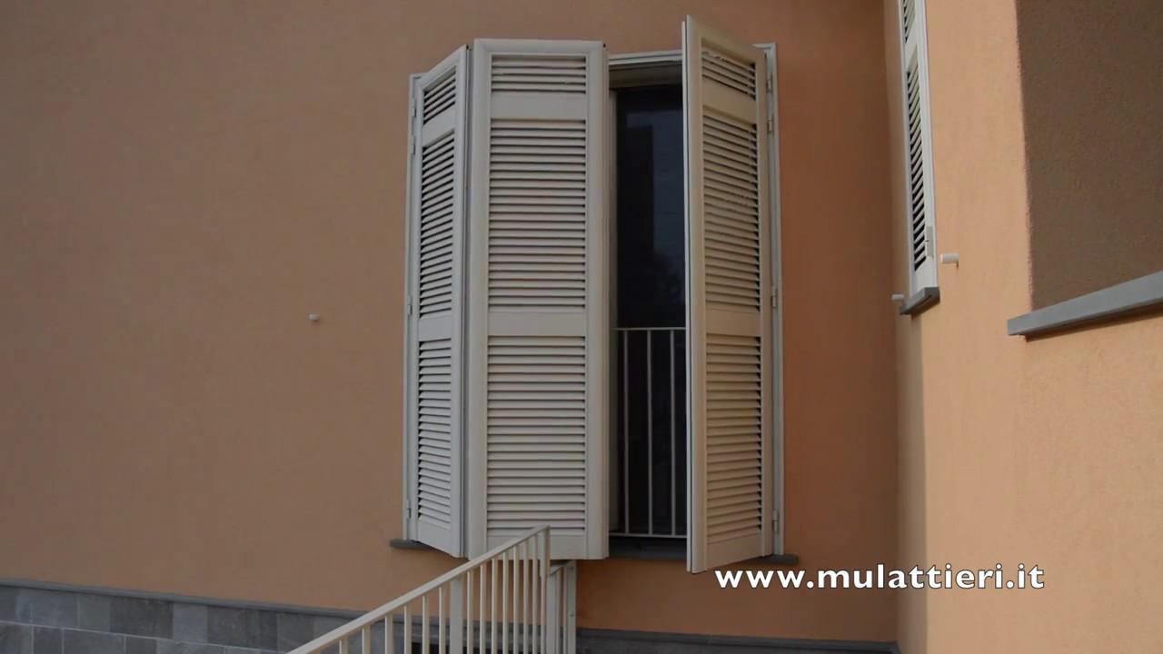 Infissi Legno Alluminio Albertini persiane in legno, alluminio e pvc la spezia | mulattieri