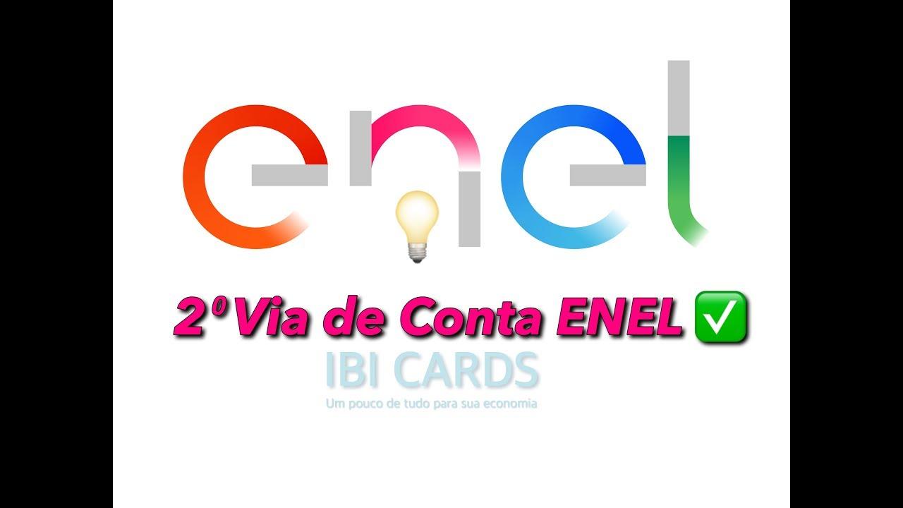 2 Via Conta Enel Energia Eletrica 2018 Mega Promocao Youtube