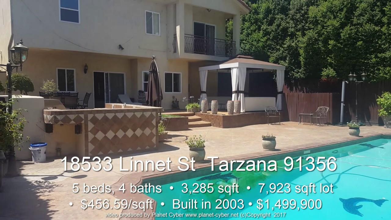 House For Sale 18533 Linnet St Tarzana 91356 5 Beds 3285 Sqft 15