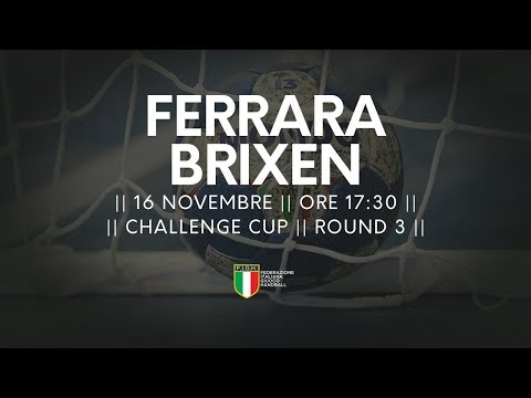 Challenge Cup [R3]: Ferrara - Brixen 22-26