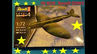 In Box - Rafhart -  He-70 F2 1:72  Revell 03962 ICM