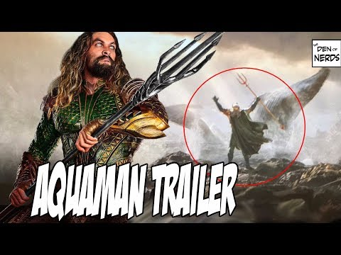 Aquaman   by James Wan  DC Films SDCC 2018