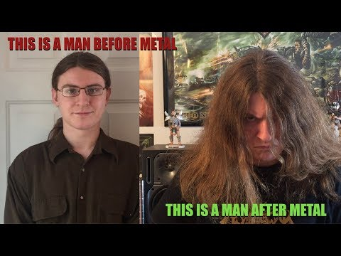 This is a Man Before Metal, This is a Man After Metal