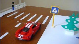 Изучаем правила дорожного движения. Мультик про машинки. Обучающее видео для детей